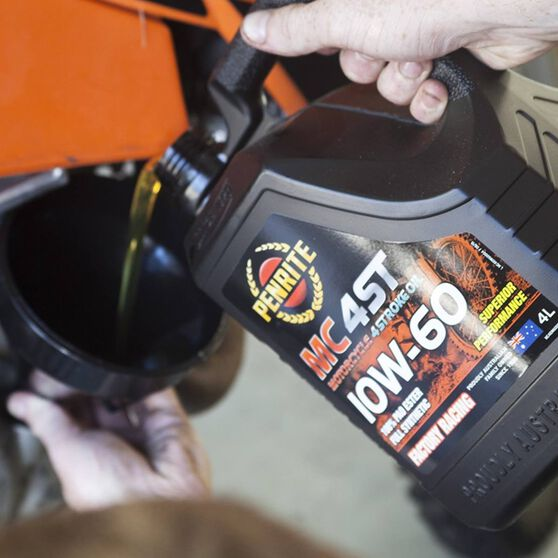 MC-4 Synthetic Motorcycle Oil - 10W-60 , 4 Litre, , scanz_hi-res
