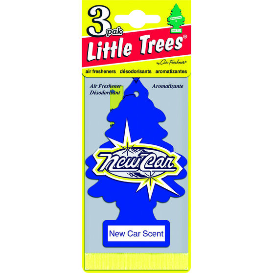 Little Trees Air Freshener - New Car, 3 Pack, , scanz_hi-res