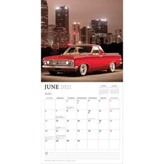 Calendar Holden Classic Cars Square 2021, , scanz_hi-res