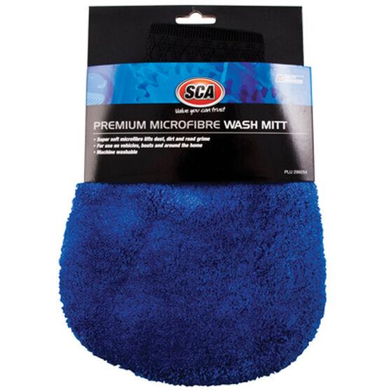 Premium Microfibre Wash Mitt, , scanz_hi-res