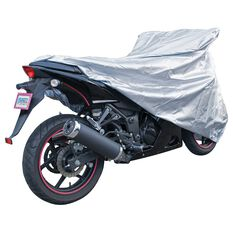 CoverALL Motorcycle Cover Silver Protection Water Resistant - Small, Suits Up To 500cc, , scanz_hi-res