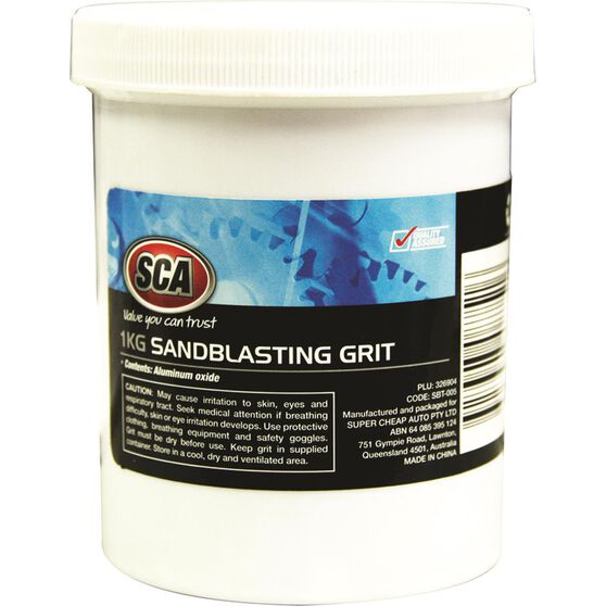 Blackridge Sandblasting Grit - 1kg, , scanz_hi-res
