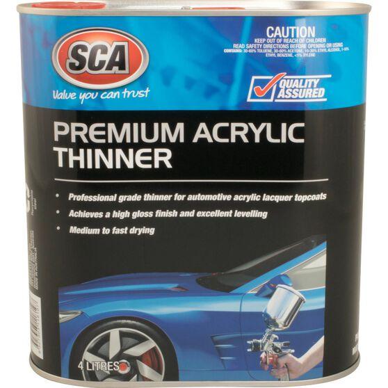 SCA Premium Acrylic Thinner - 4 Litre, , scanz_hi-res