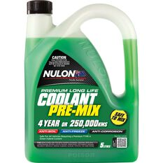Nulon Long Life top Up Coolant Green - 5 Litres, , scanz_hi-res