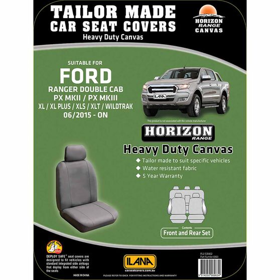 Ilana Horizon Tailor Made Pack for Ford Ranger PX MKII Dual Cab 06/15+, , scanz_hi-res