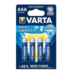 Varta High Energy Battery - AAA, 4 Pack, , scanz_hi-res