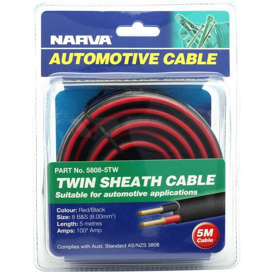 Narva Automotive Cable Twin Core 100 AMP 5m Length, , scanz_hi-res
