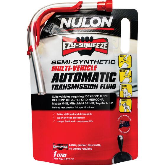 NULON EZY-SQUEEZE Multi-Vehicle Automatic Transmission Fluid - 1 Litre, , scanz_hi-res