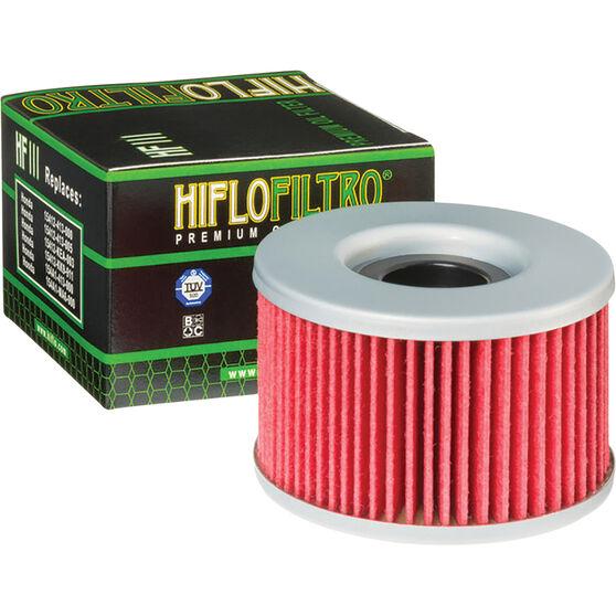 HifloFiltro Motorcycle Oil Filter HF111, , scanz_hi-res