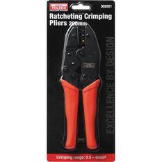 Toledo Ratchet Crimping Pliers - 220mm, , scanz_hi-res