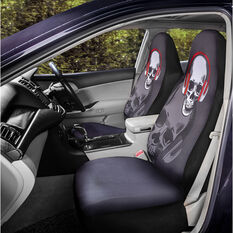 SCA Fashion Seat Cover - Skull, 60SAB, , scanz_hi-res