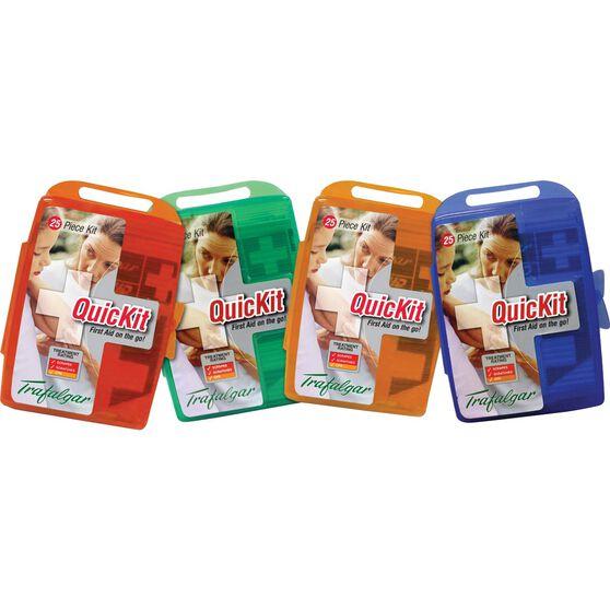 Trafalgar Quickit First Aid Kit  - 25 Pieces, , scanz_hi-res
