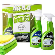 No H2O Car Wash In A Box Kit - 6 Piece, , scanz_hi-res