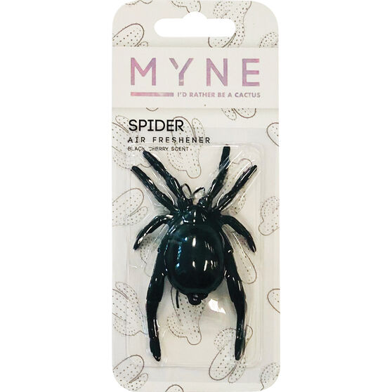 Myne 3D Gel Air Freshener - Black Spider, , scanz_hi-res
