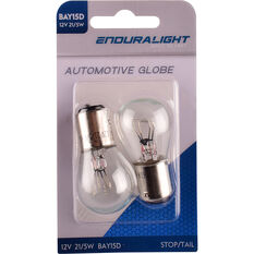 Enduralight Automotive Globe Stop/Tail 12V 21/5W 2 Pack, , scanz_hi-res