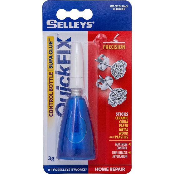 Supa Glue - Quickfix, Control Bottle, 3g, , scanz_hi-res