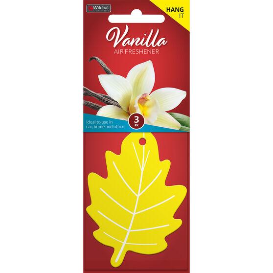 Leaf Scents Air Freshener - Vanilla, 3 Pack, , scanz_hi-res