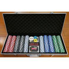 Casino Chips Portable Poker Set, , scanz_hi-res