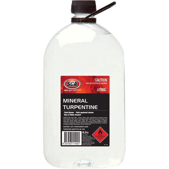 Mineral Turpentine - 4 Litre, , scanz_hi-res