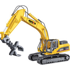 Die Cast Grapple Excavator - 1:50 scale, , scanz_hi-res