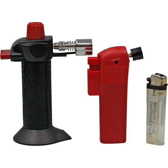 Hot Devil Butane Pocket Torch - Twin Pack, , scanz_hi-res