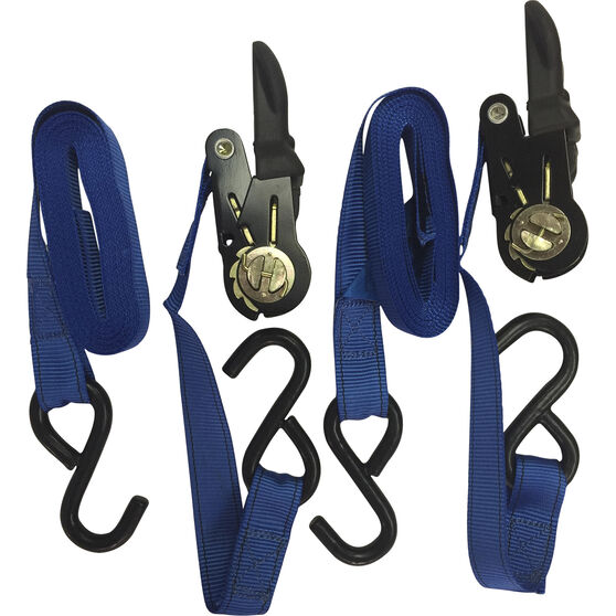 SCA Ratchet Tie Down - 4.3m, 350kg, 2 Pack, , scanz_hi-res