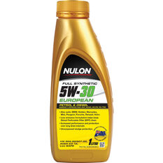 Nulon European Full Synthetic Engine Oil 5W-30 1 Litre, , scanz_hi-res