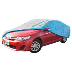 Car Cover - Silver Protection, Water Resistant, Suits Large Vehicles, , scanz_hi-res
