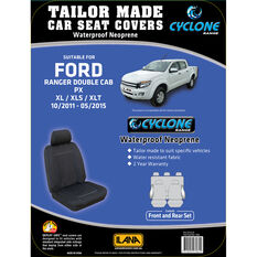 Ilana Cyclone Tailor Made Pack to suit Ford Ranger PX Dual Cab 10/2011 to 05/2015, , scanz_hi-res