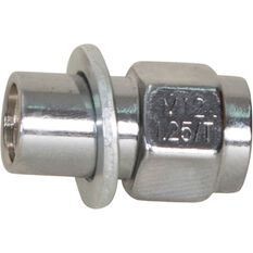 Calibre Wheel Nuts, Shank, Chrome - MN12125, 12mm x 1.25mm, , scanz_hi-res