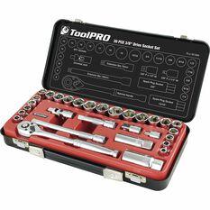 "ToolPRO Socket Set 3/8"" Drive Metric/SAE 30 Piece, , scanz_hi-res"