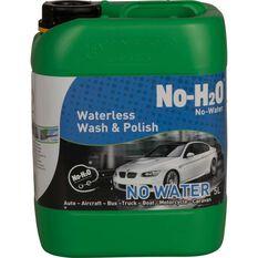 No-H2O Waterless Wash and Polish - 5 Litre, , scanz_hi-res