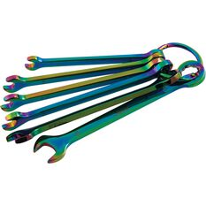 SCA Spanner Set - Combination, Chameleon, 6 Piece, Metric, , scanz_hi-res