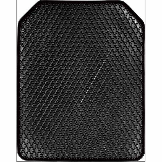 Rubber Mat - Black, Single, 55x43cm, , scanz_hi-res