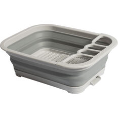 Ridge Ryder Collapsible Dish Rack - Grey, , scanz_hi-res