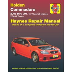 Haynes Car Manual For Holden Commodore VE-VF 2006-2017 - 41744, , scanz_hi-res