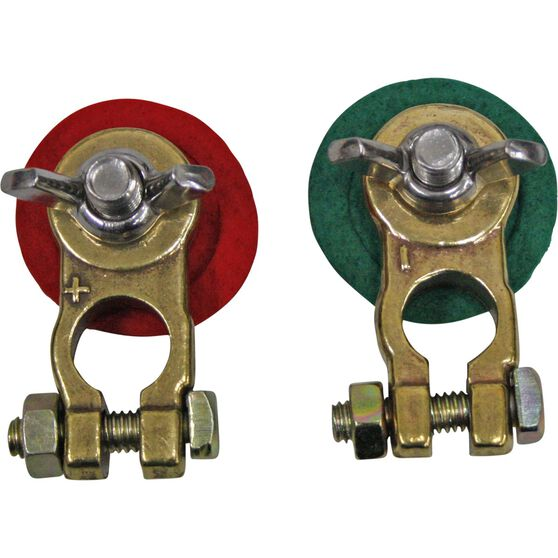 Matson Battery Terminal, Wing Nut, Universal - 2 Pack, , scanz_hi-res