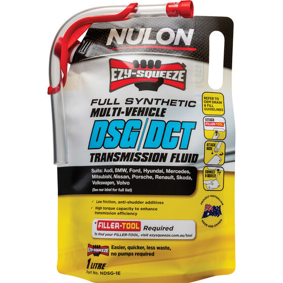 NULON EZY-SQUEEZE Multi-Vehicle DSG/DCT Transmission Fluid - 1 Litre, , scanz_hi-res