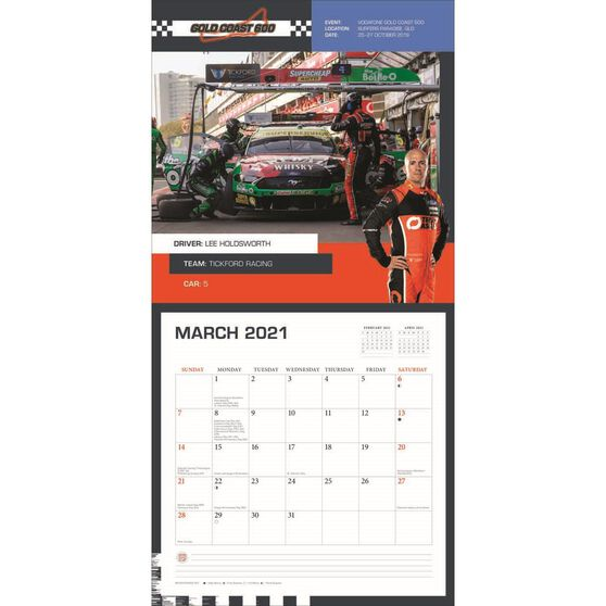Calendar Supercars Square 2021, , scanz_hi-res