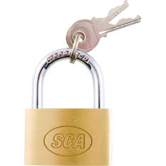 SCA Padlock - Brass, 40mm, , scanz_hi-res