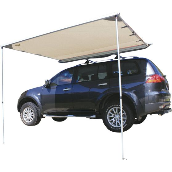 Ridge Ryder Led 4wd Awning Shade 2 0 X 2 0m Supercheap