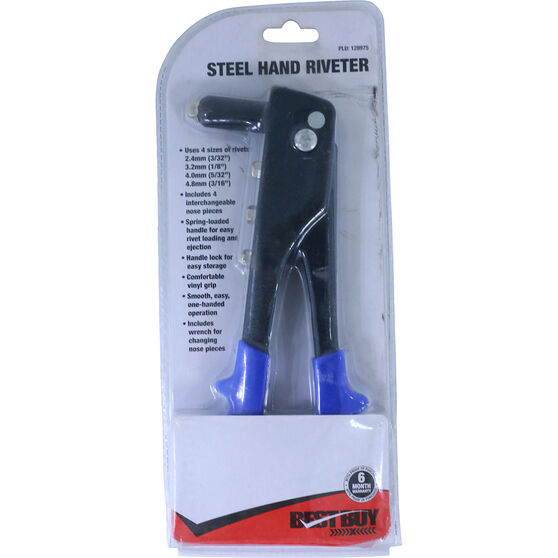 Best Buy Hand Riveter - Steel, , scanz_hi-res