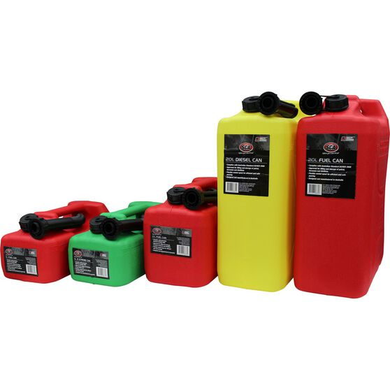 Jerry Can - Petrol, 10 Litre, , scanz_hi-res