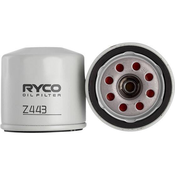 Ryco Oil Filter - Z443, , scanz_hi-res
