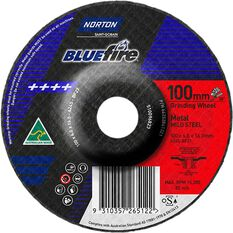 Norton Grinding Disc - 100mm  x  6mm  x  16mm, , scanz_hi-res