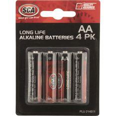 Battery - Alkaline, AA, 4 Pack, , scanz_hi-res