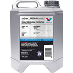 Valvoline Synpower MST Engine Oil 5W-30 10 Litre, , scanz_hi-res