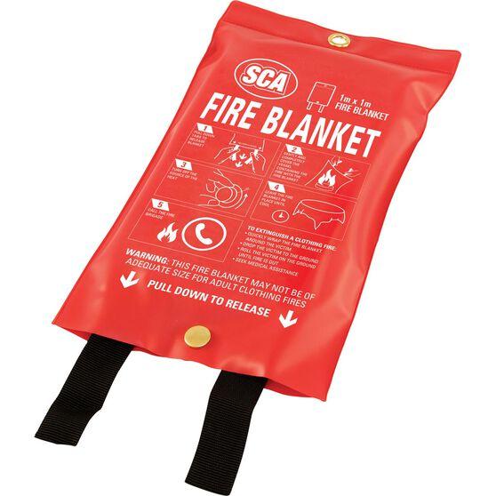 SCA Fire Blanket - 1m x 1m, , scanz_hi-res