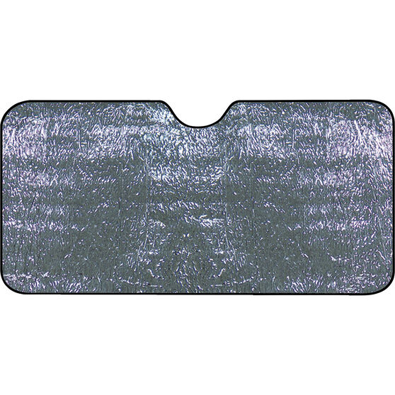 Best Buy Sunshade - Silver, Single Sided, Accordion, Front, , scanz_hi-res