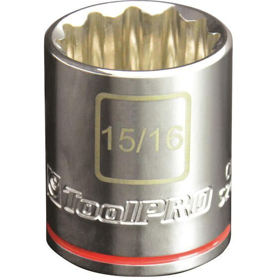 "ToolPRO Single Socket 1/2"" Drive 15/16"", , scanz_hi-res"